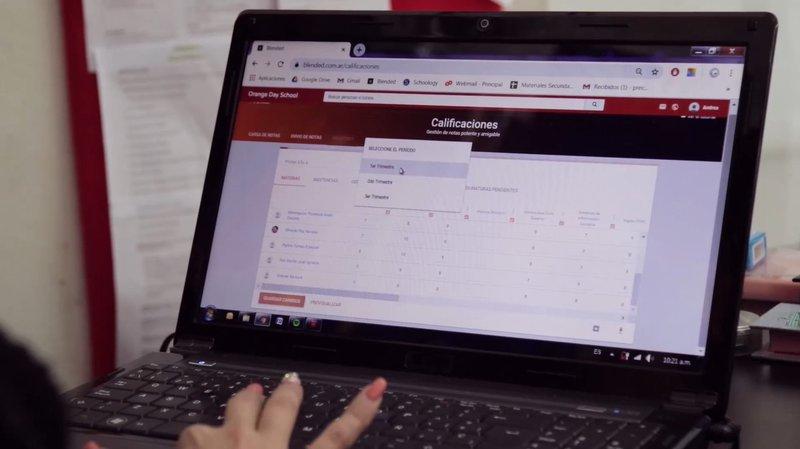 Blended online portal for educators