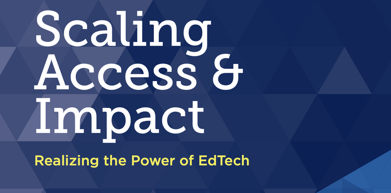 Scaling Access and Impact Cover